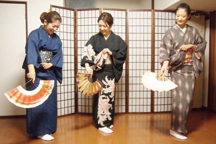 日本舞踊お稽古